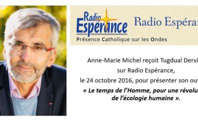 Radio Espérance – 24 octobre 2016